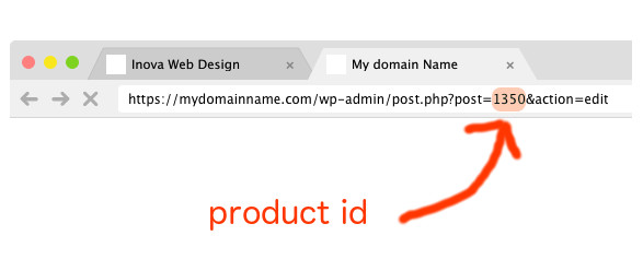 How to find ID number for images on WordPress