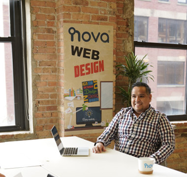 Web developer in Chicago office