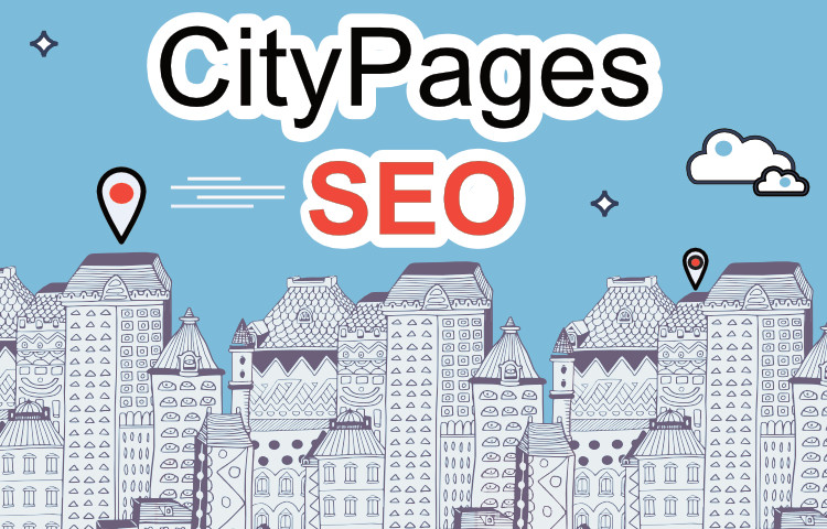 City pages SEO illustration